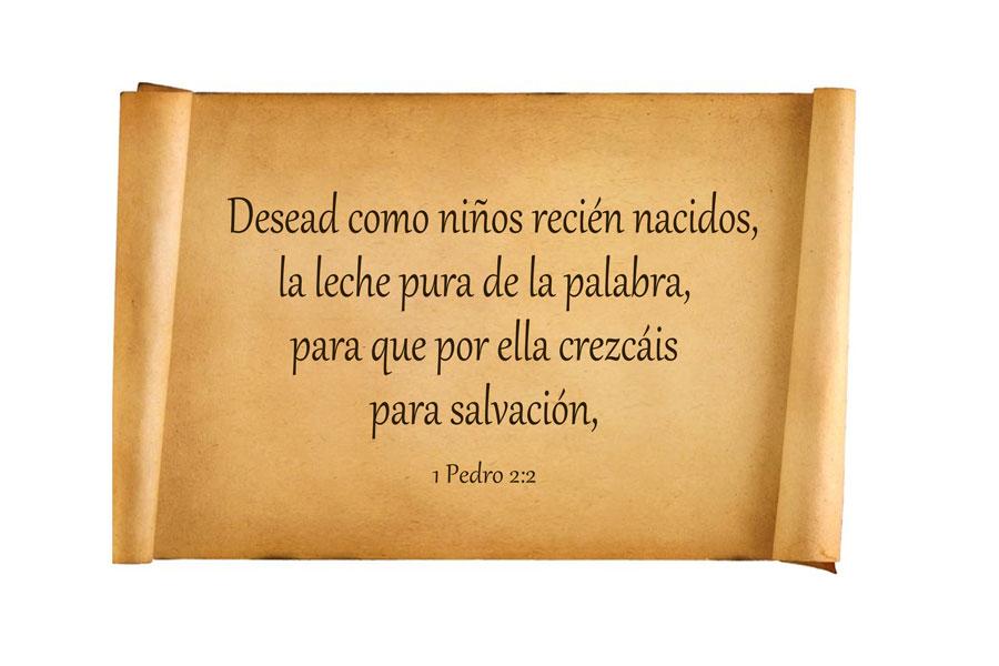 1 Pedro 2:2