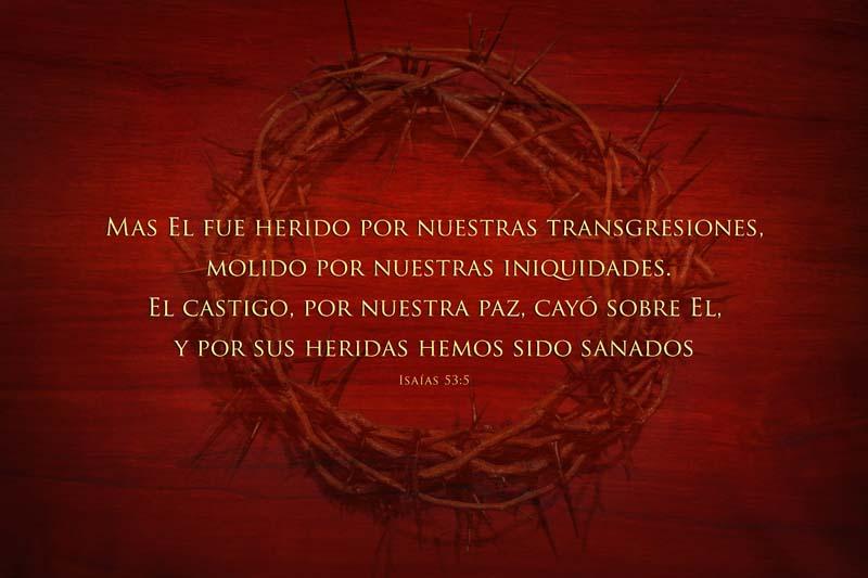 Isaías 53:5