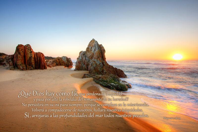 Miqueas 7:18-19