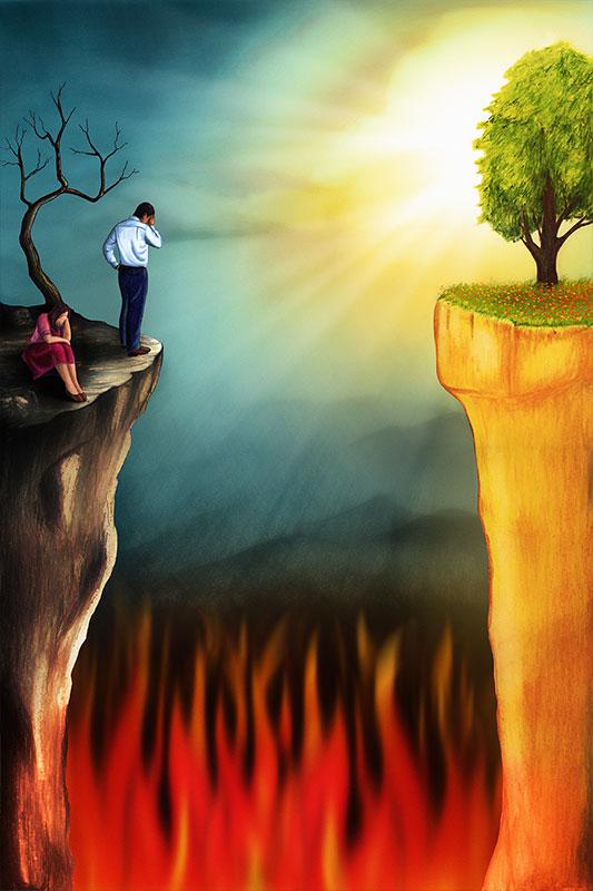 El hombre es pecador y está separado de Dios