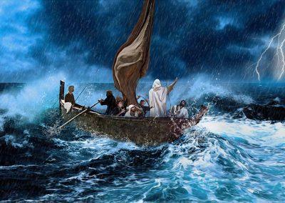 1 - Jesús calma la tormenta