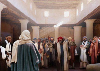 1 - Jesús en la sinagoga