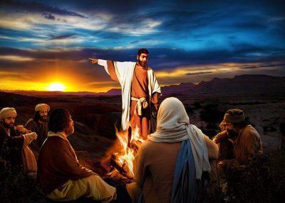 2 - Jesús recibe noticias sobre la muerte de Lázaro
