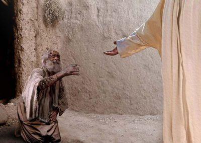2 - Jesús sana un leproso