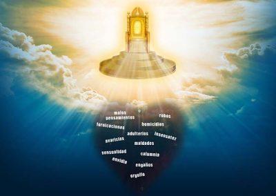 2 - Trono de Dios y corazón
