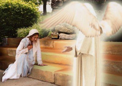 3 - María y el Ángel
