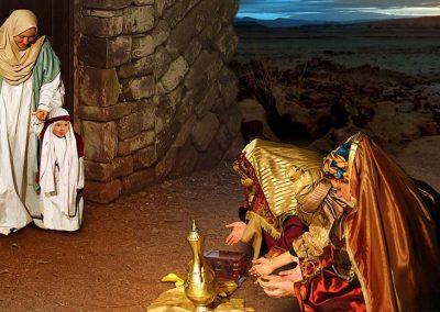 4 - Los reyes Magos y Jesús