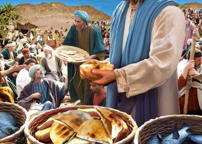 5 - Jesús alimenta a los 5000