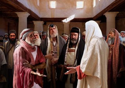 5 - Jesús sana al hombre de la mano seca