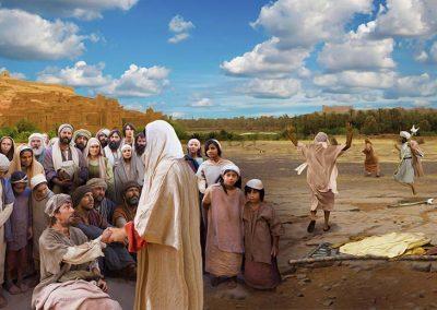 6 - Jesús sanando enfermos