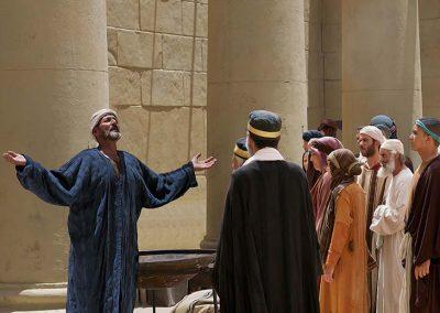 6 - Zacarías dando su profesía