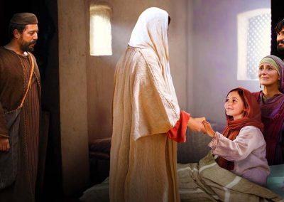 7 - Jesús levanta a la hija de Jairo