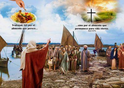7 - Jesús predicando al lado del mar