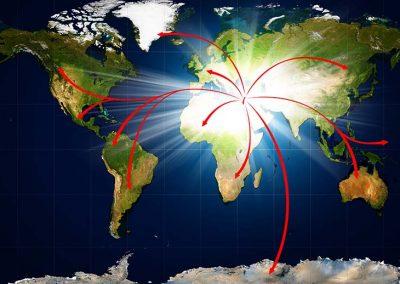 7 - Mapa del mundo