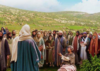 7 - Multitudes seguían a Jesús