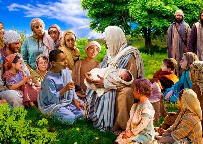 9 - Jesús abrazando a los niños2