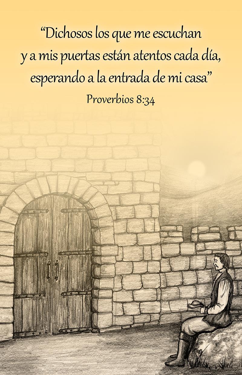 Proverbios 8:34
