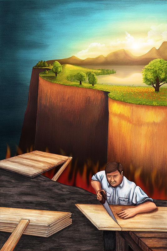 Las obras son inútiles para reconciliarlo con Dios